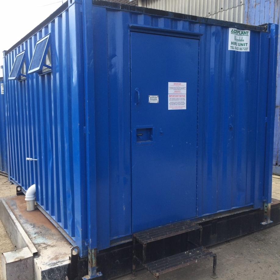 Site Toilet Block