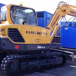 8T Mini Excavator