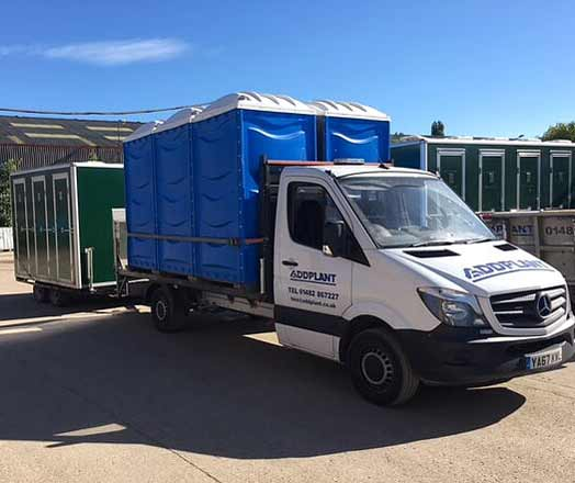 Addplant Event Toilets are Ready for Delivery