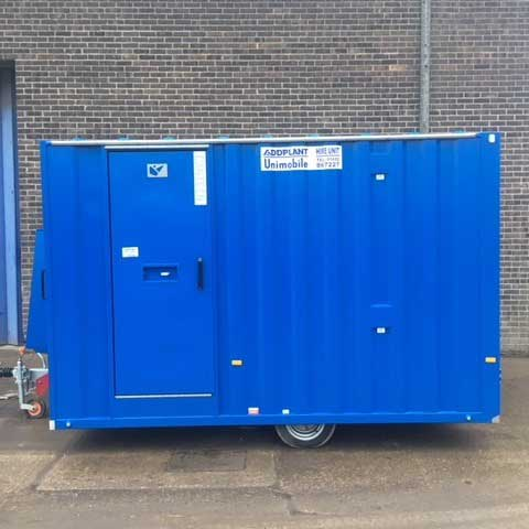 Mobile Welfare Units for Hire in Hull