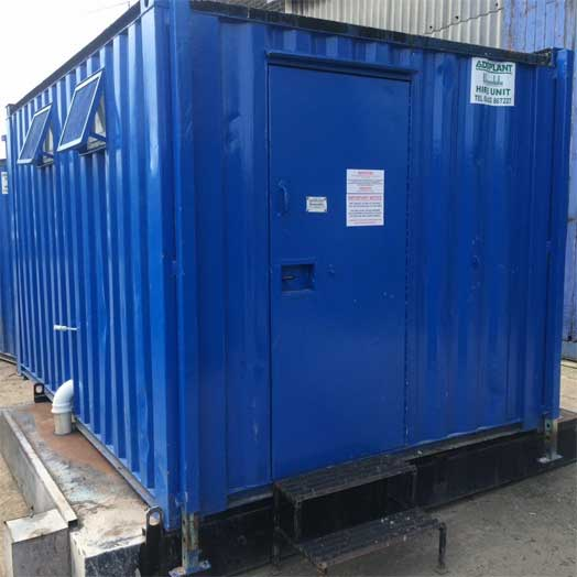Site Toilet Block