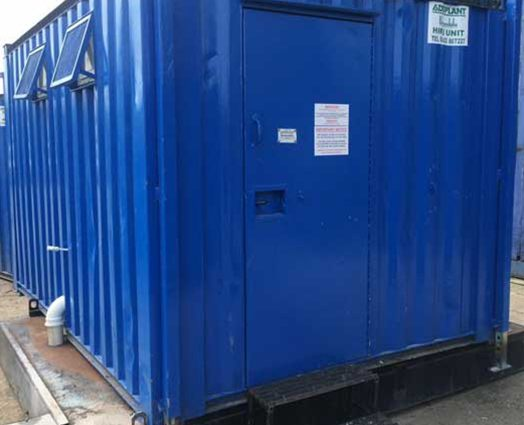 Portable toilets for construction site and special events