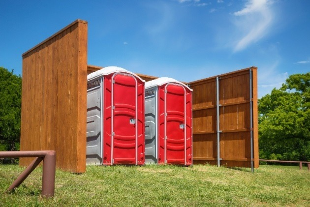 Types of portable toilets for hire