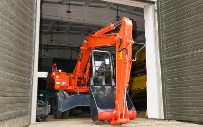 plant equipment under maintenance
