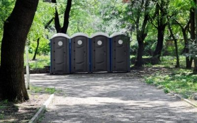 benefits of portable toilets for hire on construction sites