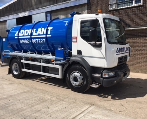 Addplant tanker wagon