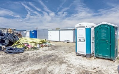 Portable toilets for home renovations