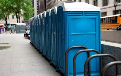 Where portable toilets first began