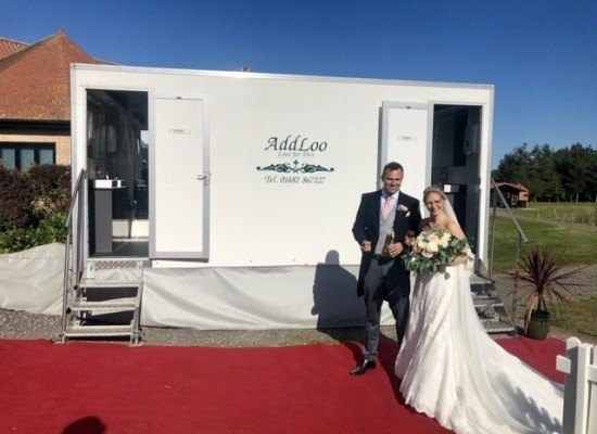 Portable Toilet Hire for Weddings