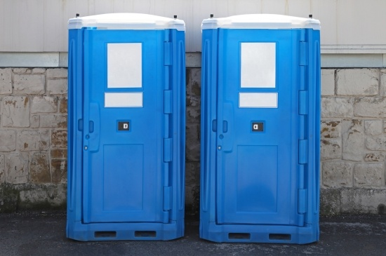 What is the Blue Liquid in a Portable Toilet?