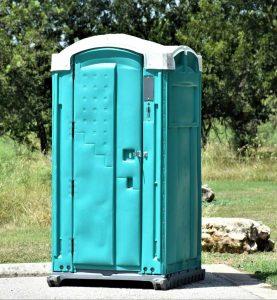 Portable Toilet outside